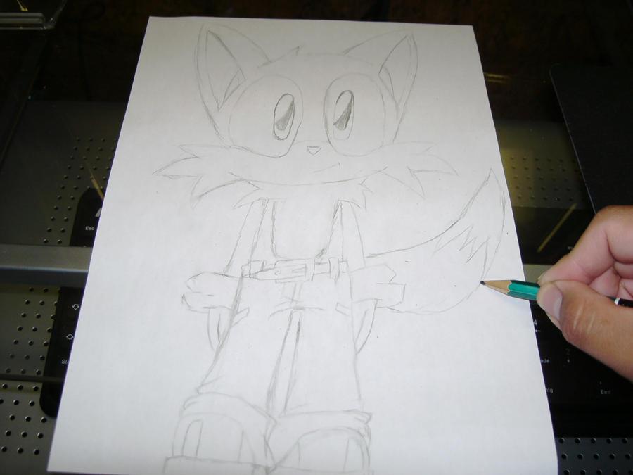 Eure Skizzen/Zeichnung! Me_drawing_Darky_the_Fox_by_Esteban1988