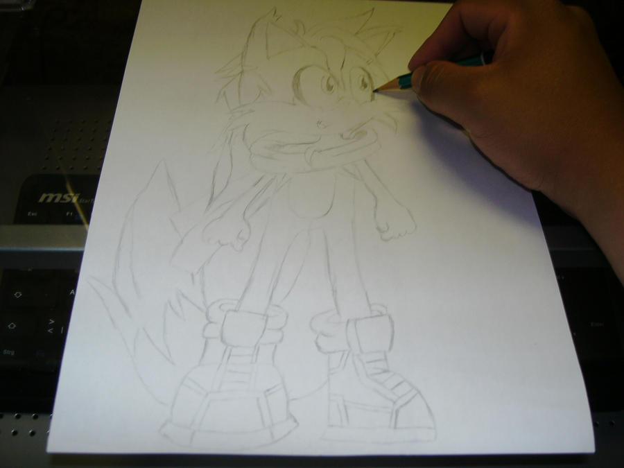 Eure Skizzen/Zeichnung! Me_drawing_Ike_Miles_Vanguard_by_Esteban1988