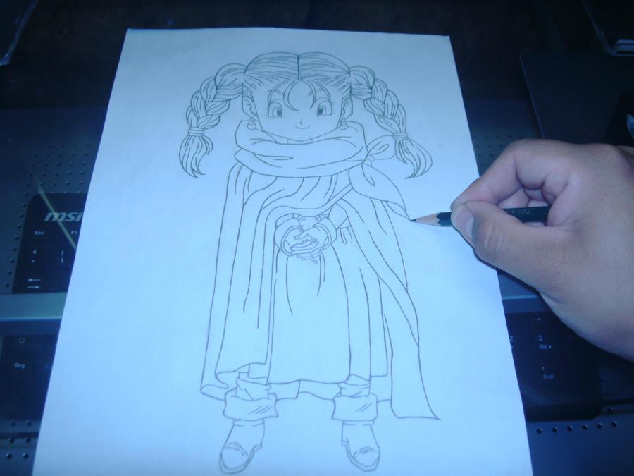 Eure Skizzen/Zeichnung! Me_drawing_Bianca_from_DQ5_by_Esteban1988