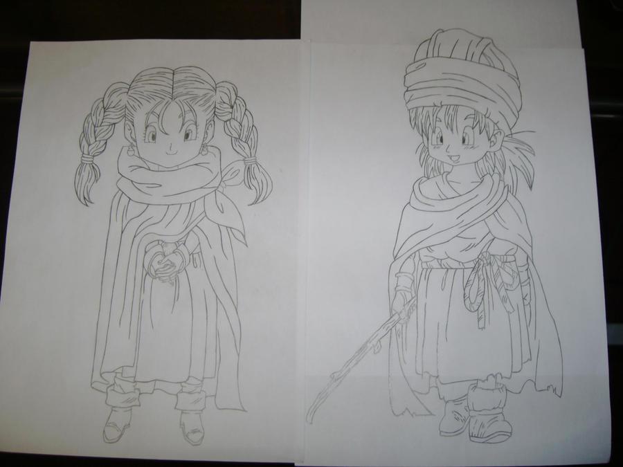 Eure Skizzen/Zeichnung! Bianca_and_Hero_by_Esteban1988