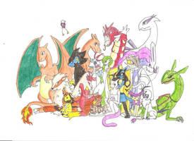 Pokemon Team by Koji45