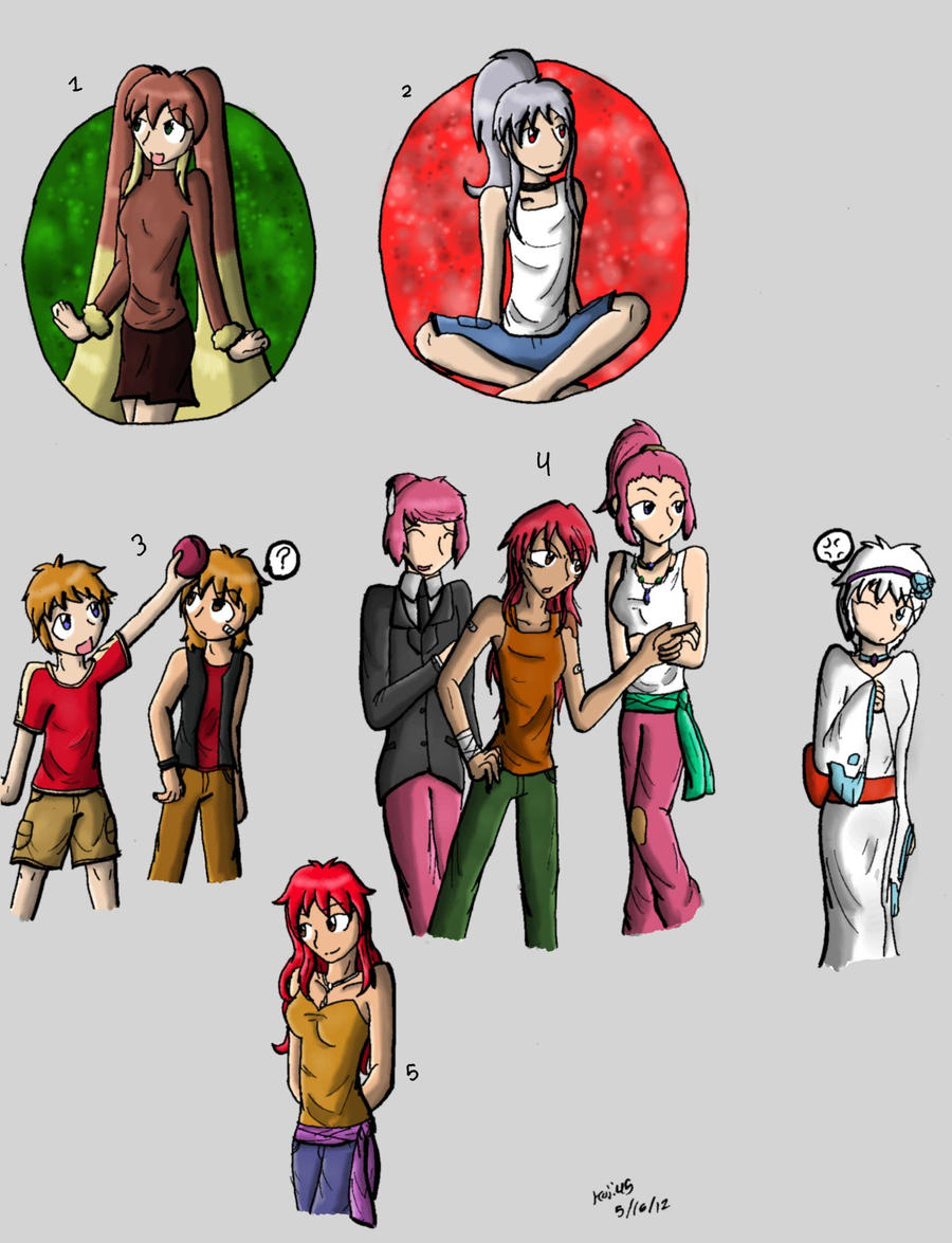 Human Pokemon by Koji45 on DeviantArt