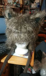 Wolf hat! (for sale) by Koji45