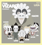 LICA team VIZARD bleach 2