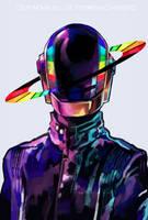 Daft Punk by Arrrkal