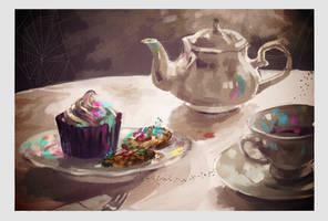 After 30 Noons Tea by Arrrkal