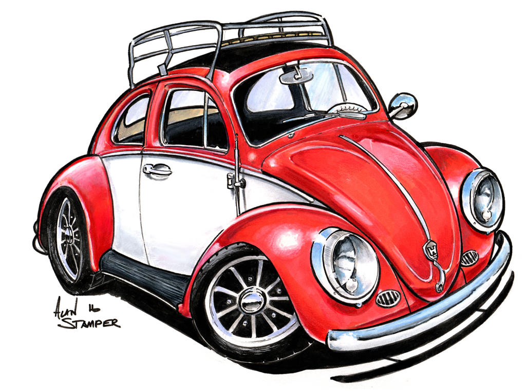 Retro Car Paintings