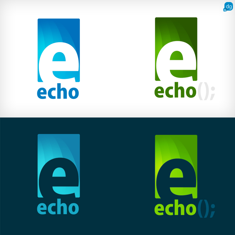 Echo Logo Echo- logo d...