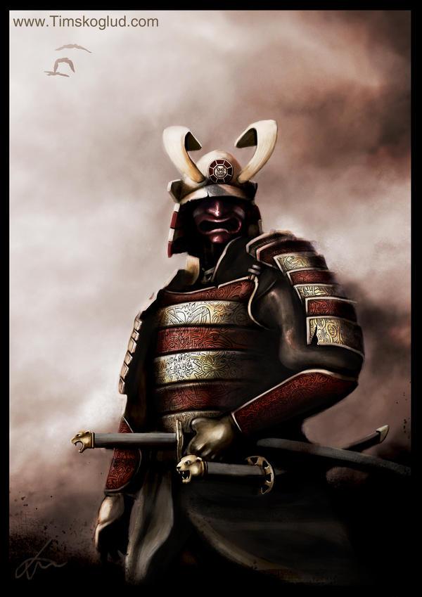 Samurai of hope by Timskoglund