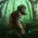 wood elf character