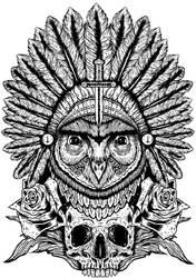 Aurelias Owl by AlexUnderwood