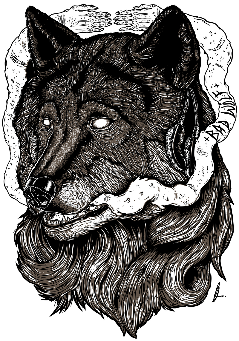 Clothing Design BAD WOLF clothing design