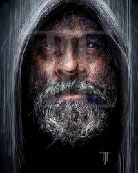 Aged Luke Skywalker
