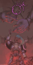 The Hand of Slaanesh by Schizoideh