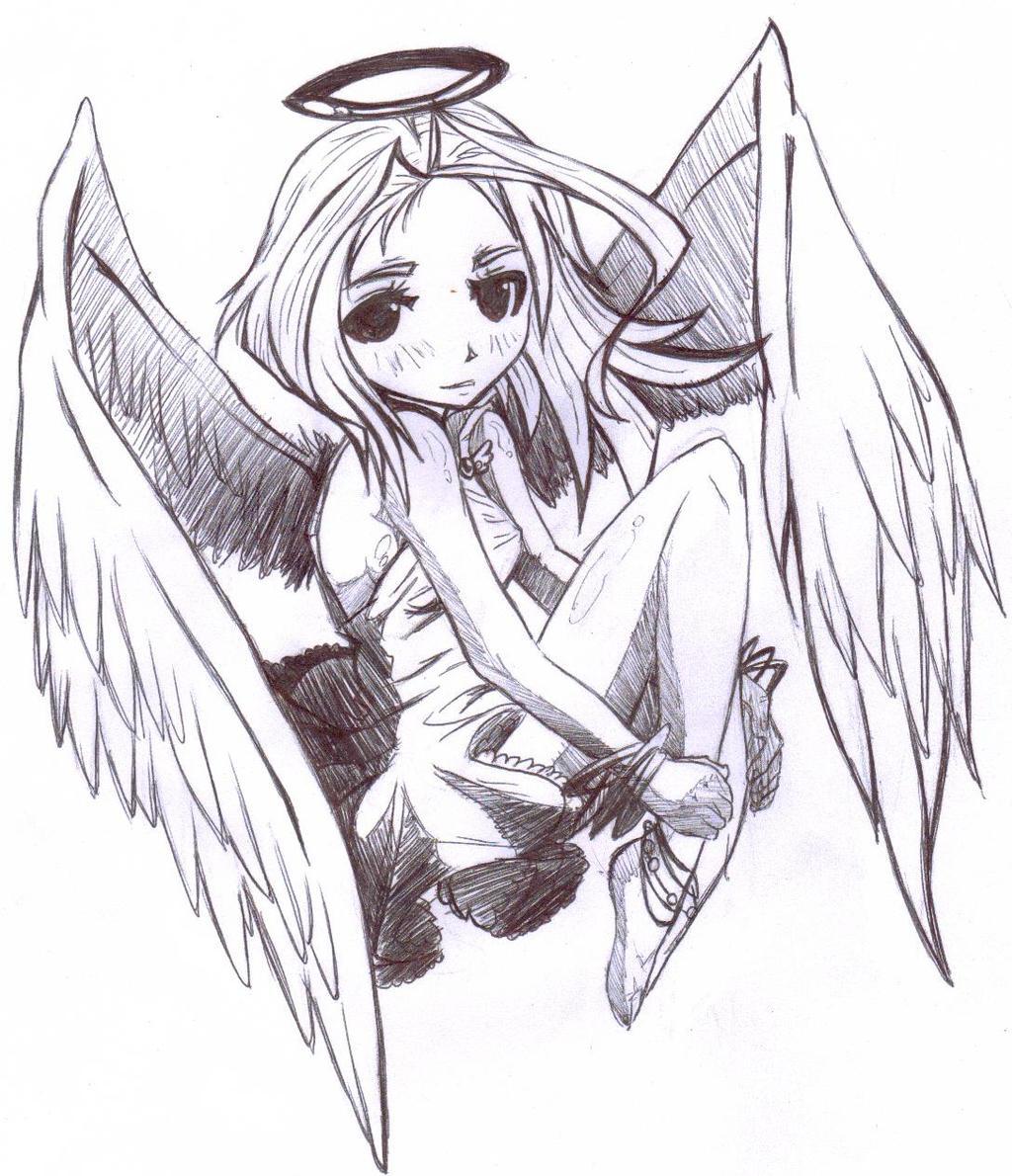 100+ ideas Dibujos De Anime De Angeles on christmashappynewyears ...