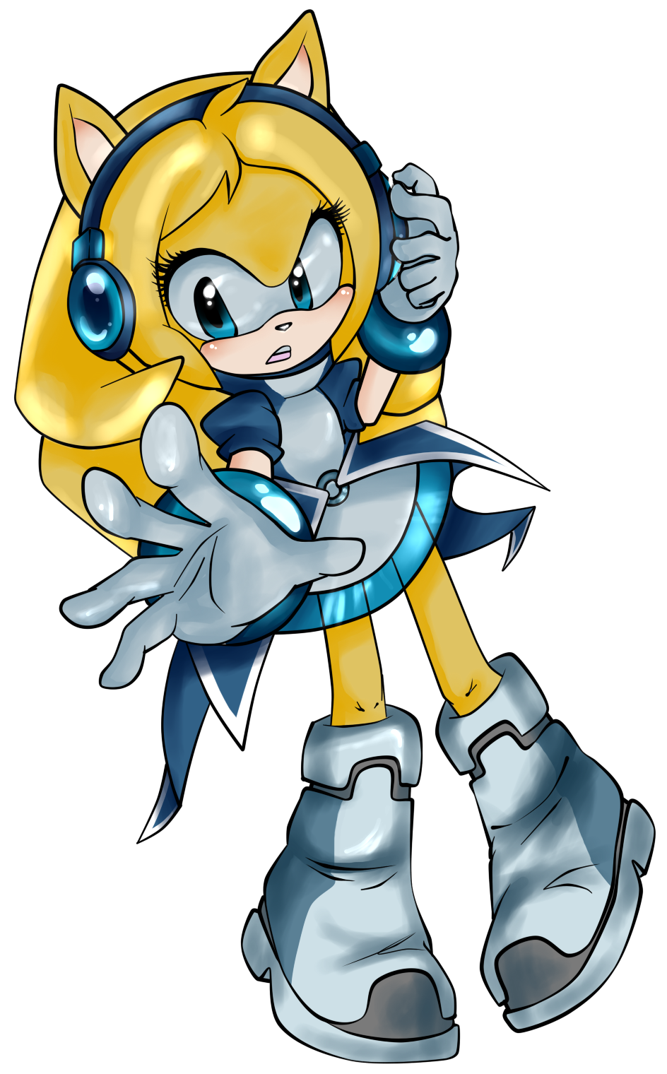 What if: Migatte no Sonic Render (auraless) by Nibroc-Rock on DeviantArt