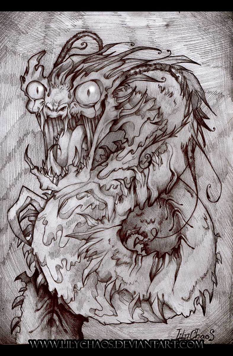 Wurm Scarecrow by LilyChaoS
