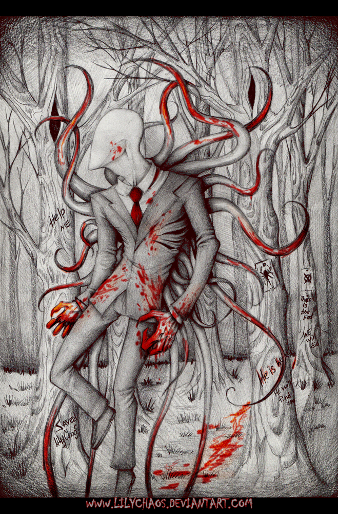 SLENDER MAN by LilyChaoS