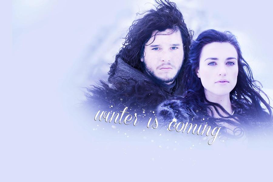 winter is coming {Jon + Morgana} by RischaMorgan