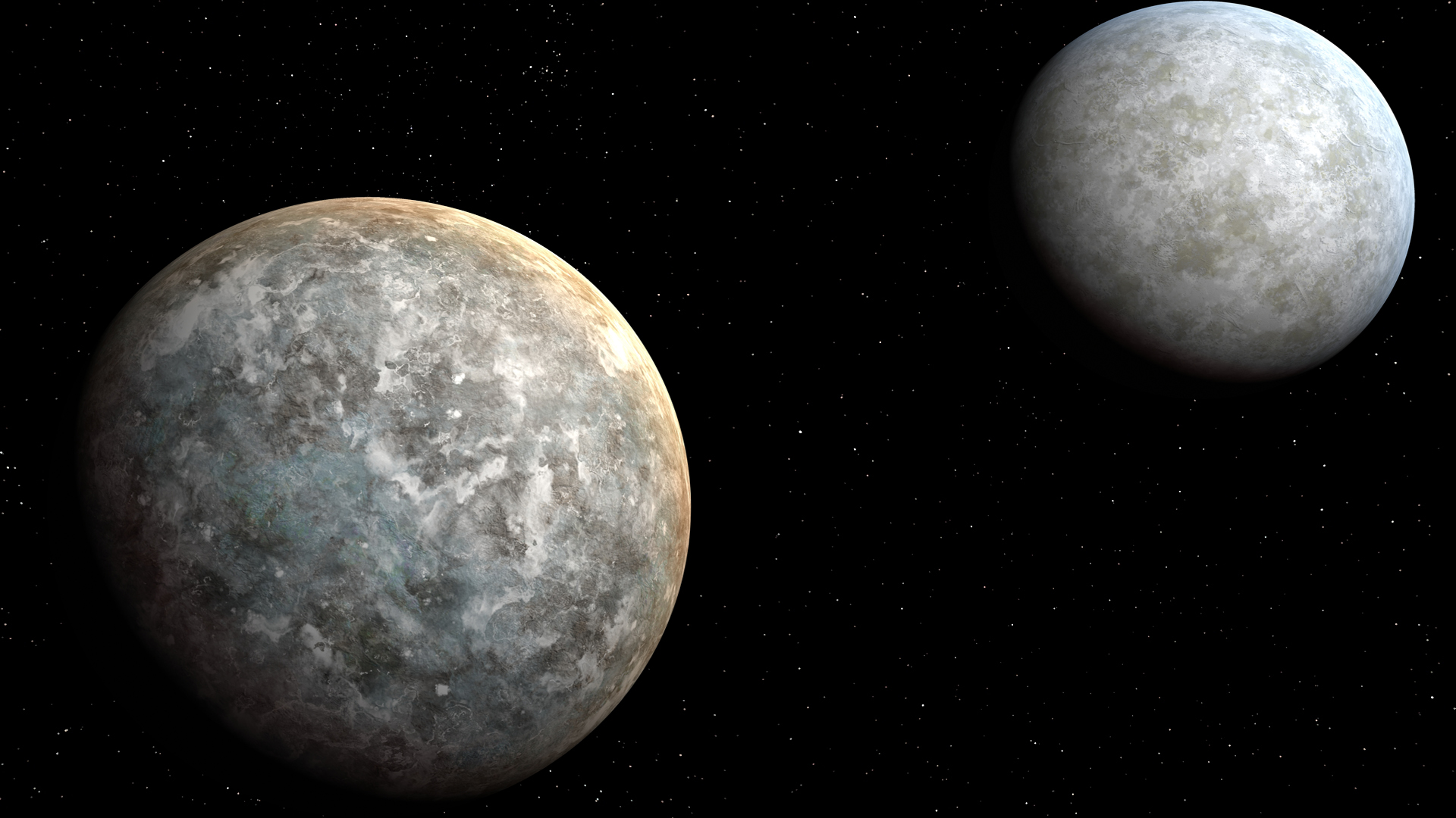 planets and moons stars - photo #18