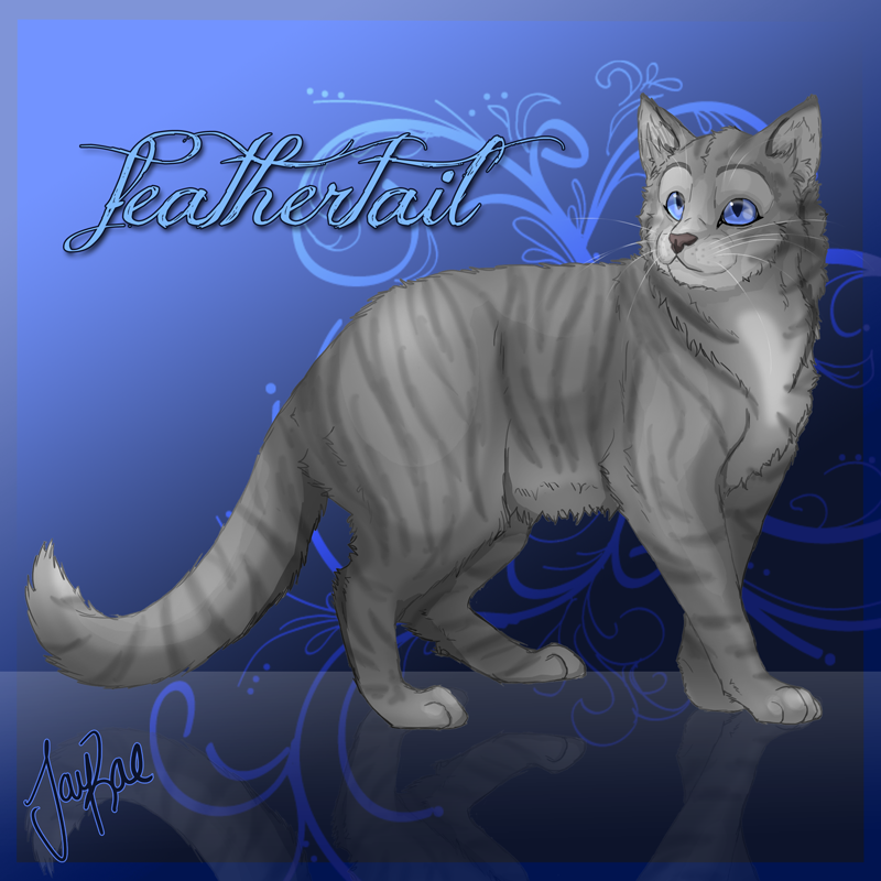 Feathertail of RiverClan by xxMoonwish