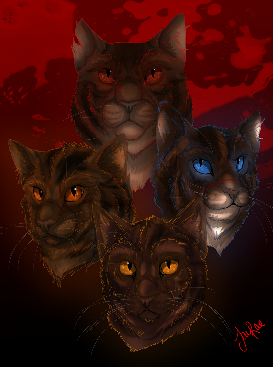 100+ Warrior Cats Hawkfrost And Tigerstar HD Wallpapers – My Sweet Home