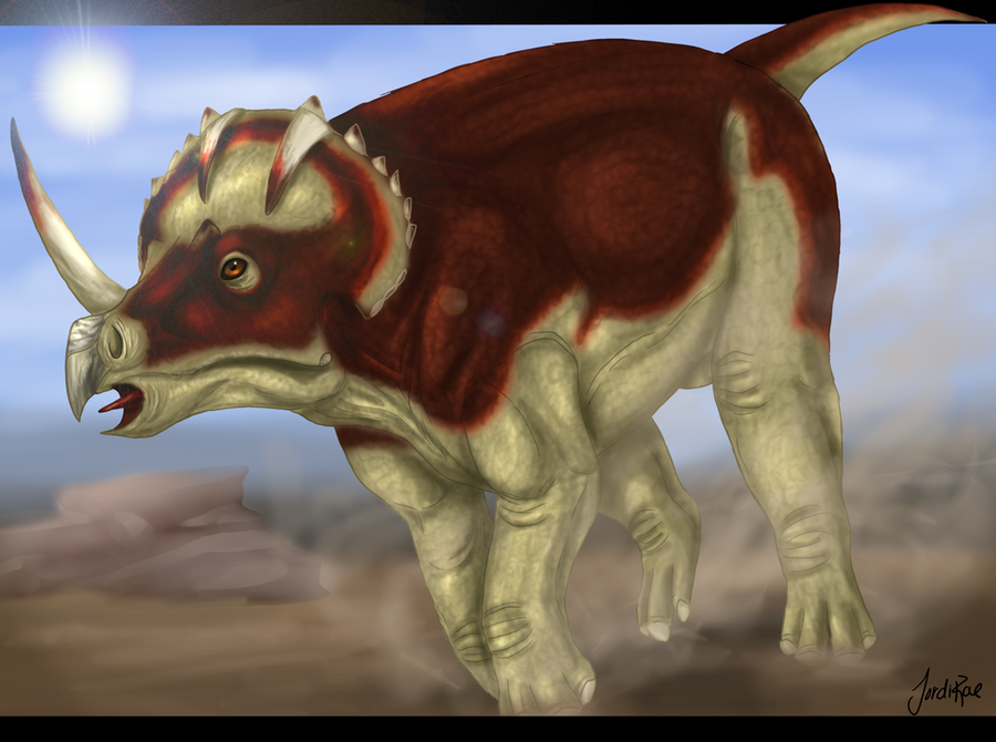 Centrosaurus by xxMoonwish