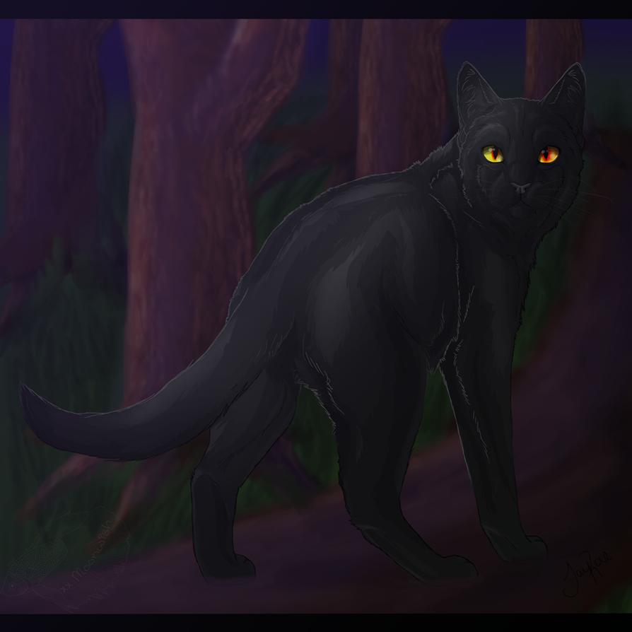 Nightstar of ShadowClan by xxMoonwish