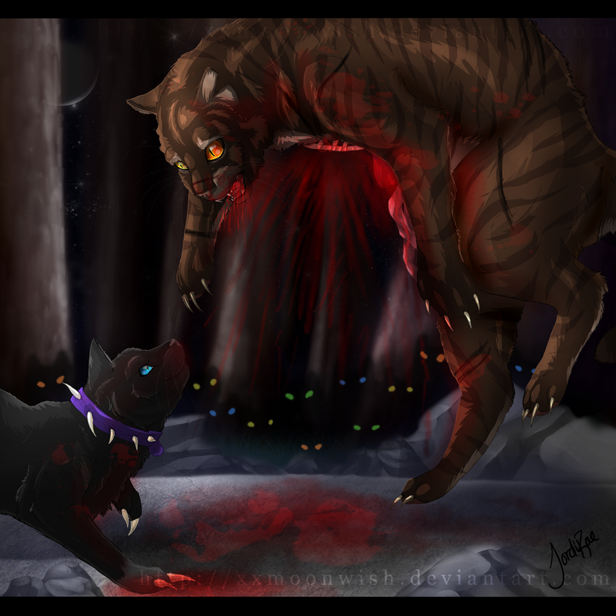 The Death of Tigerstar by xxMoonwish