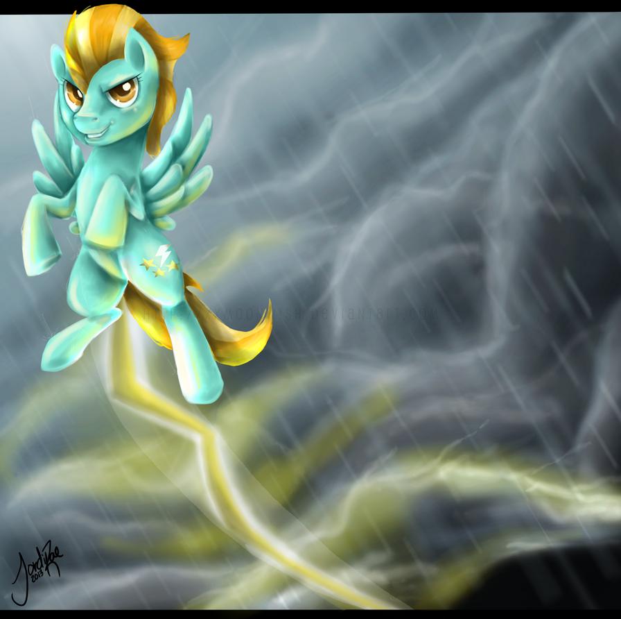 Lightning Dust by xxMoonwish