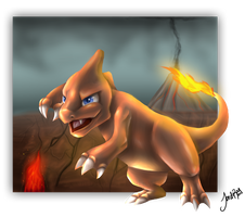 Charmeleon by TheMoonfall
