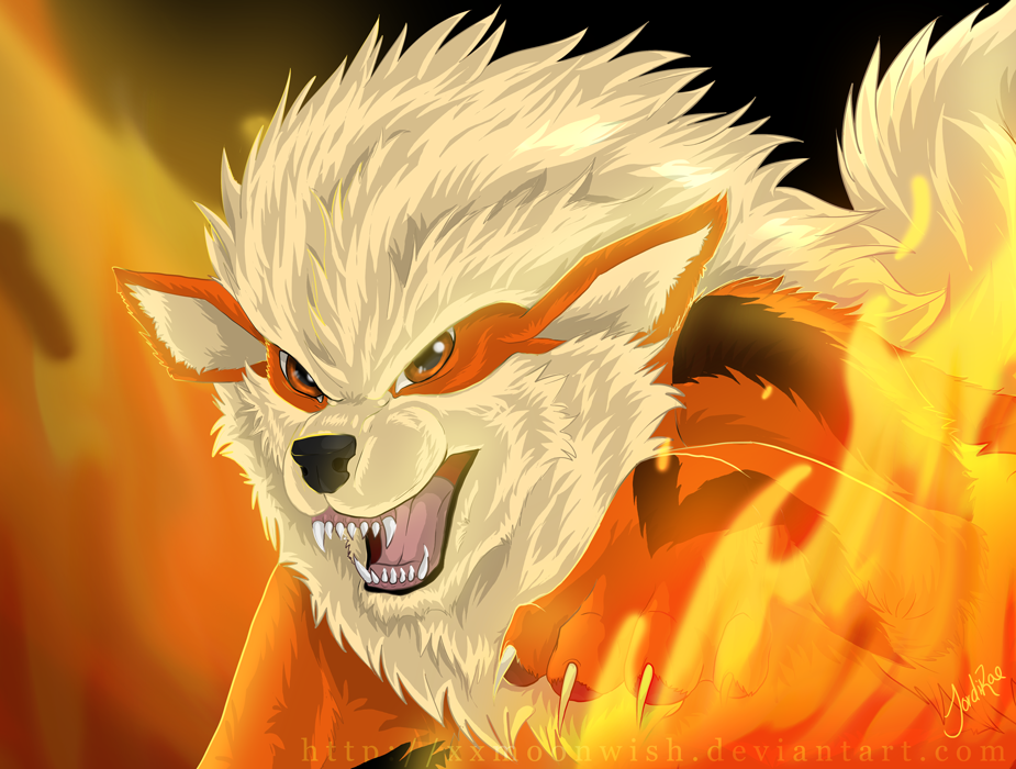 Arcanine by xxmoonwish on deviantart - Arcanine pics ...