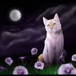 Flowers and a Full Moon - Stixx comm. -