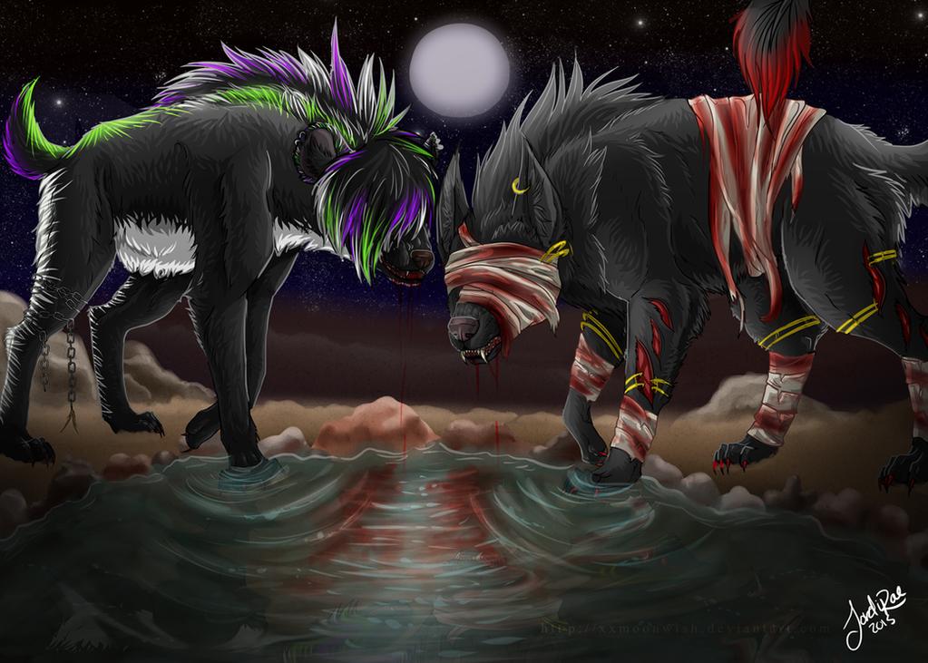 The Darkest Souls -comm.- by xxMoonwish