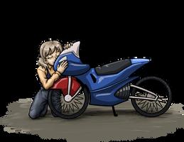 Joyce x Sal's Bike OTP by DeathbyChiasmus