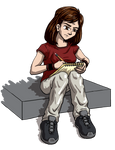 Dumbing of Age - Mary Sketching