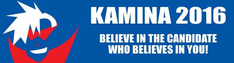 Kamina For President 2016 by DeathbyChiasmus
