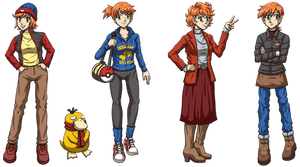 PKMN Misty Winter Fashion
