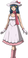 Pokemon - Dawn as a Lady Trainer