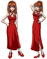 Asuka - 'Once More With Feeling' Formal Dress by DeathbyChiasmus