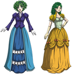 Nino and Rebecca: Fancy Fire Emblem Females