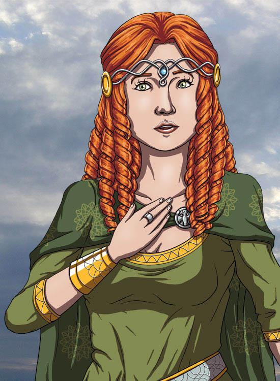 Banner Saga - Lady Alette, Surprised by DeathbyChiasmus