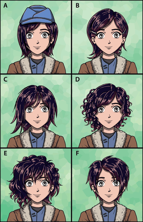 Commission Ruby Rose Hairstyle Selector By Deathbychiasmus On Deviantart