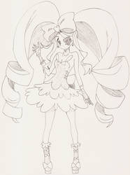 Nui Harime Pen Sketch - Kill-La-Kill by AaragonNega