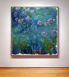 Agapanthus,  Claude Monet
