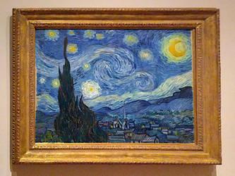 The Starry Night, Vincent Van Gogh
