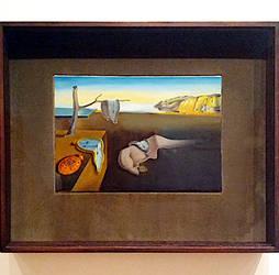 The Persistence Of Memory ,  Salvador Dali