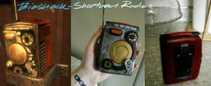 Bioshock Shortwave Radio Prop by betterDeadthanRED