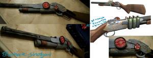 Bioshock Shotgun Prop by betterDeadthanRED