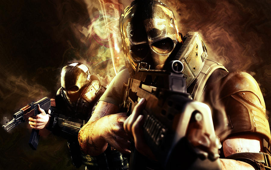 Army Of Two Wallpaper By MaFFio On DeviantArt